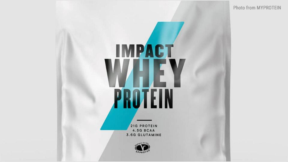 中高年こそプロテインでタンパク質補充:マイプロテイン : IMPACT WHEY PROTEIN