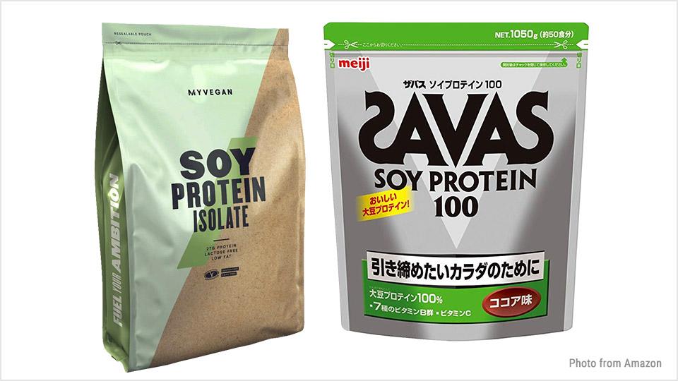 中高年こそプロテインでタンパク質補充:SOYプロテイン